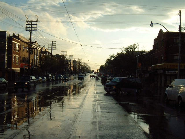 St Clair Avenue after the rain 1